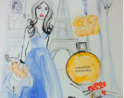 Aquarela Chanel Chance de Paris