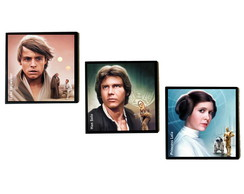 Trio de quadros STAR WARS
