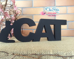 Letras de Mesa Love Cat