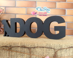 Letras de Mesa Love DOG