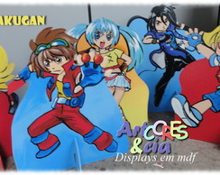 Displays Bakugan mdf