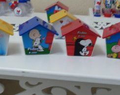 Casinha cofre do snoopy
