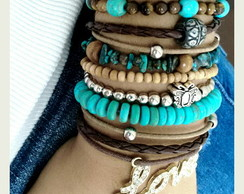 Mix de pulseira Love