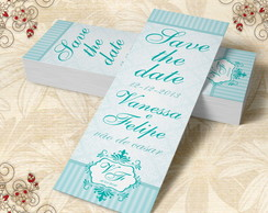 Marcador de Livro Save The Date - 00021
