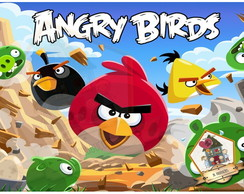 PAINEL 40x60 - ANGRY BIRDS