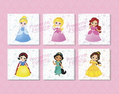 Quadros Decorativos Princesas Disney