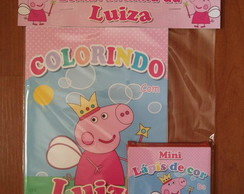 kIT DE COLORIR PEPPA PIG FADA