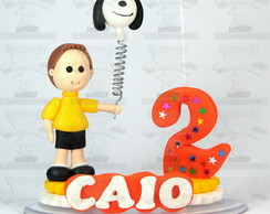 Topinho snoopy personalizado biscuit.