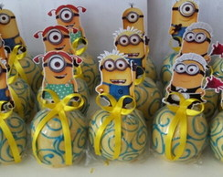 Maça do amor chocolate Minions