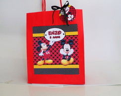 Sacola Personalizada Mickey Mouse
