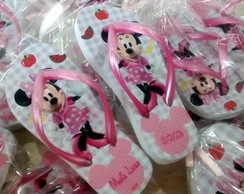 Chinelo Infantil Minnie Picnic