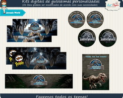 Kit guloseimas digital jurassic World