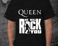 Camiseta Queen Rock Roll