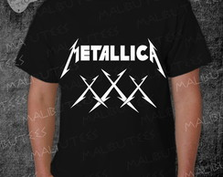 Camiseta Metallica Rock Roll