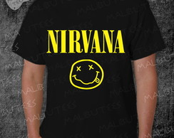 Camiseta Nirvana Rock Roll