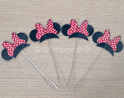 Wrapper e topper - Minnie Mouse