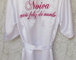 ROBE NOIVA MAIS FELIZ DO MUNDO