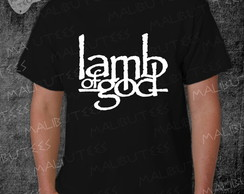 Camiseta Lamb Of God Rock Roll