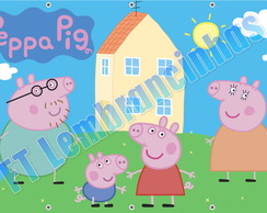 PAINEL PEPPA PIG BANNER PEPPA PIG
