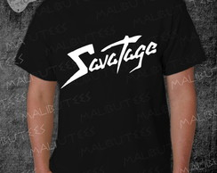 Camiseta Savatage Rock Roll