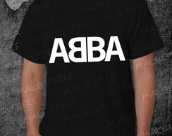 Camiseta Abba Rock Roll