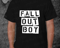 Camiseta Fall Out Boy Rock