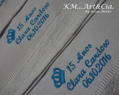 toalha de batizado bordada com nome e desenho elo7