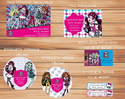 Kit Escolar 2 - Monster High