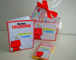 Kit colorir na maletinha Snoopy