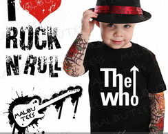 Camiseta Infantil The Who Rock
