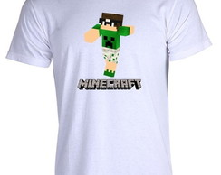 Camiseta Minecraft Pac Mike 01