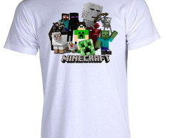 Camiseta Minecraft Pac Mike 0