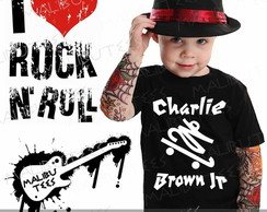 Camiseta Infantil Charlie Brown Jr