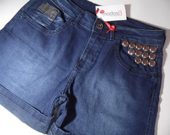 Bermuda Jeans Customizada
