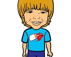 48f0e07ded312d Lindinha caricatura digital de criança delicada menina no Elo7 ...