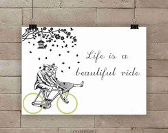 Poster Beautiful ride A3
