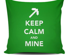 Almofada Minecraft - Keep Calm