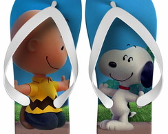 CHINELO SNOOPY E CHARLIE BROWN.