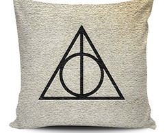 Almofada Harry Potter-Deathly Hallows