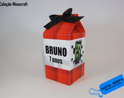 Caixa Milk MineCraft TNT