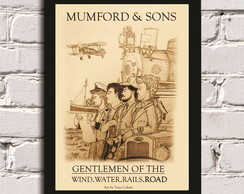 Poster c/ moldura Mumford and Sons 2