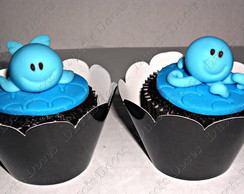 CUPCAKES DO FUNDO DO MAR