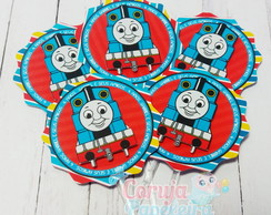 Toppers para doces/cupcakes - Thomas