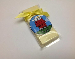 Barrinha de Chocolate Branco Snoopy