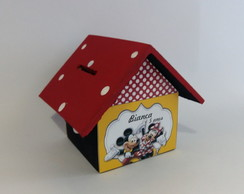 Casa Cofre Mickey & Minnie