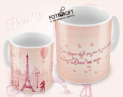 CANECA LOVE IN PARIS