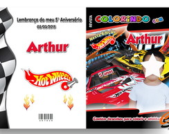 Revista Personalizada Hot wheels