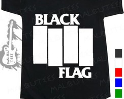 Body Infantil Black Flag Rock