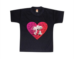 ... Camiseta ou Body Love Snoopy 8cdfeebae4205