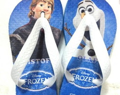 Chinelo Do Frozen Meninos